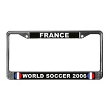 France World Cup Soccer License Plate Frame