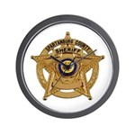 Spartanburg Sheriff Wall Clock