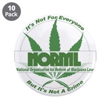 "Funny Norml 3.5"" Button (10 pack)"