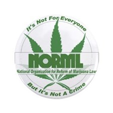 """Funny Norml 3.5"""" Button"""