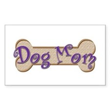 Dog Mom Rectangle Decal