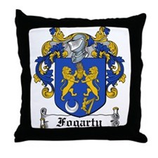 Fogarty Coat of Arms Throw Pillow