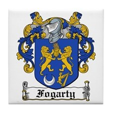 Fogarty Coat of Arms Tile Coaster