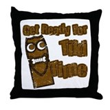 Tiki Time! Throw Pillow