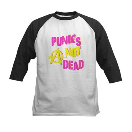 Punks Not Dead Kids Baseball Jersey