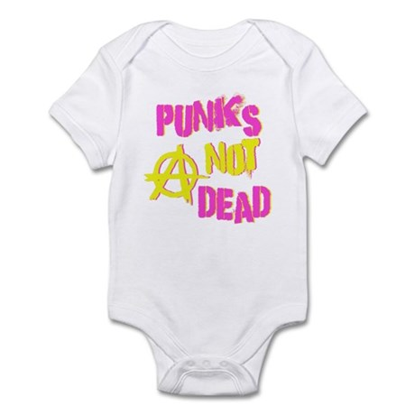 Punks Not Dead Infant Bodysuit