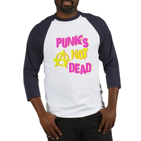 Punks Not Dead Baseball Jersey
