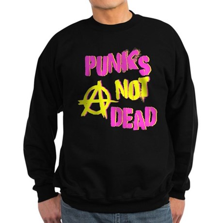 Punks Not Dead Dark Sweatshirt