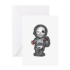 Baby Skeleton Greeting Card