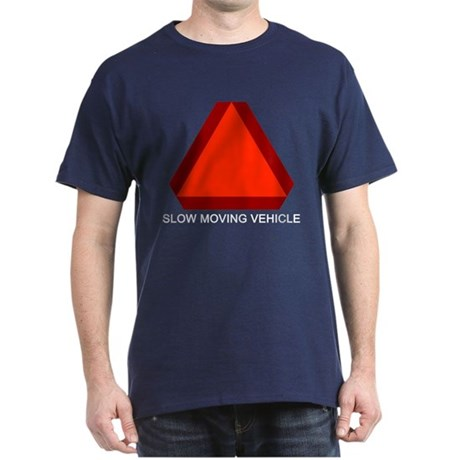 Slow Moving Vehicle T-Shirt Green/Blue/Red/Black