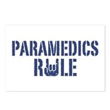 Paramedics Rule Postcards (Package of 8)
