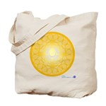 Mayan Calendar Crop Circle Tote Bag