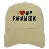 I Love My Paramedic Baseball Cap