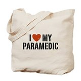I Love My Paramedic Tote Bag