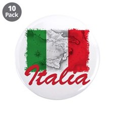 "italian pride 3.5"" Button (10 pack)"