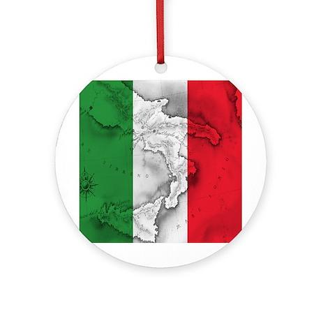 italian pride Ornament (Round) by italian_store