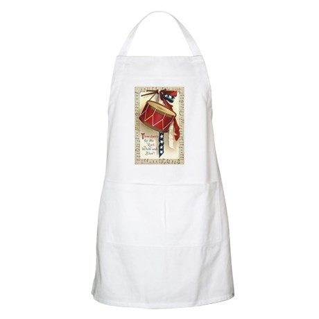 Vintage 4th of July BBQ Apron