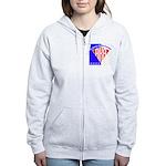 American Kitefliers Associati Women's Zip Hoodie