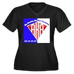 American Kitefliers Associati Women's Plus Size V-