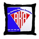 American Kitefliers Associati Throw Pillow