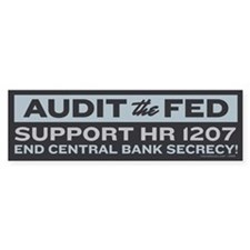 Audit the Fed Bumper Sticker (10 pk)