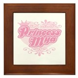 Princess Mya Framed Tile