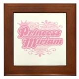 Princess Miriam Framed Tile