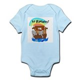 Noah's Ark 1st Birthday Infant Creeper