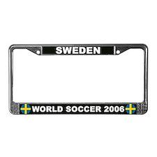 Sweden World Cup 2006 Soccer License Plate Frame