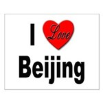 I Love Beijing Small Poster