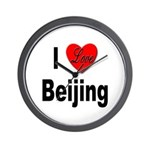 I Love Beijing Wall Clock