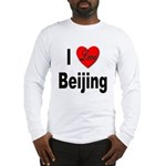 I Love Beijing (Front) Long Sleeve T-Shirt