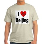 I Love Beijing (Front) Ash Grey T-Shirt