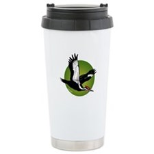 Pileated Woodpecker Ceramic Travel Mug