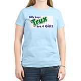 Trux Women's Pink T-Shirt