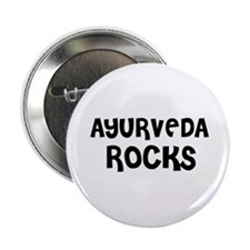 AYURVEDA ROCKS Button