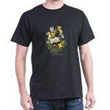 Pansy Black T-Shirt