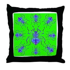 Illuminatae fatallus TAL Throw Pillow