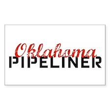 Oklahoma Pipeliner Rectangle Sticker 10 pk)