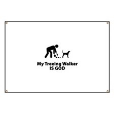 Treeing Walker Coonhound Banner