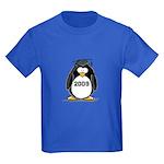 2009 Graduation Penguin Kids Dark T-Shirt
