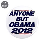 "Anyone But Obama 3.5"" Button (10 pack)"