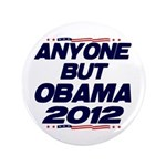 "Anyone But Obama 3.5"" Button"