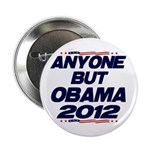 "Anyone But Obama 2.25"" Button"