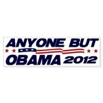 Anyone But Obama Bumper Sticker (10 pk)