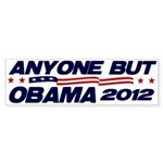 Anyone But Obama Bumper Sticker