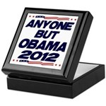 Anyone But Obama Keepsake Box