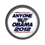 Anyone But Obama Wall Clock