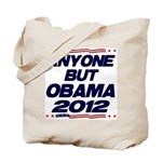 Anyone But Obama Tote Bag