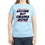 Anyone But Obama Women's Light T-Shirt
